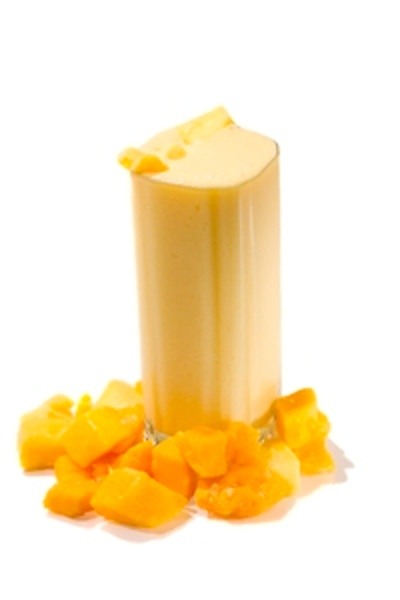 Mango Smoothie, made with BiPro Whey Protein Isolate