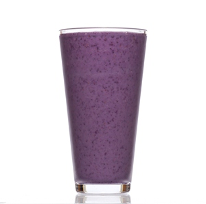 Blueberry Smoothie, made with BiPro Whey Protein Isolate