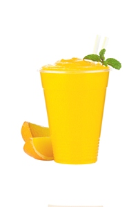 Orange Blended Beverage, made with BiPro Whey Protein Isolate