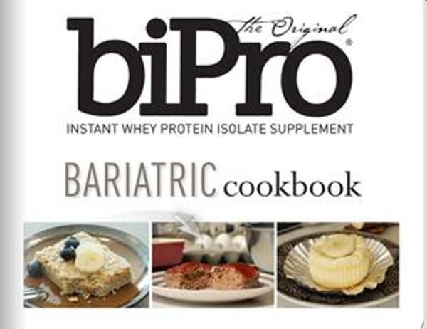 Bariatric Cookbook by BiProUSA