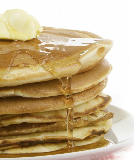 Gluten-Free Pancakes, made with Whey Protein