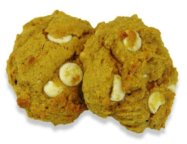 Pumpkin Chip Cookies, made with Whey Protein