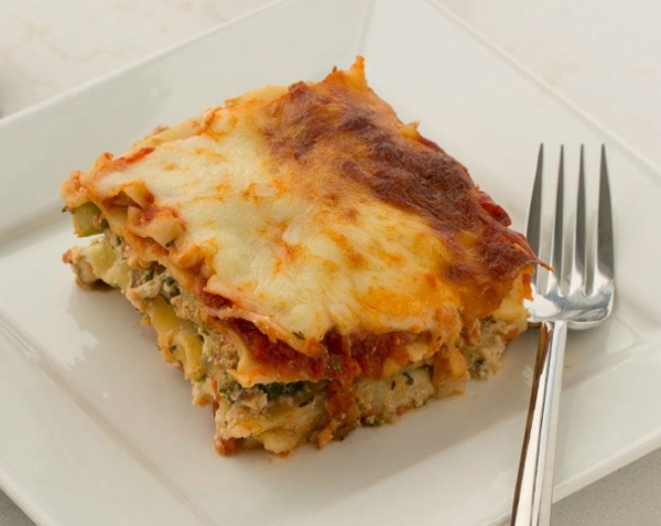 Italian Vegetable Custard, made with BiPro Whey Protein Isolate