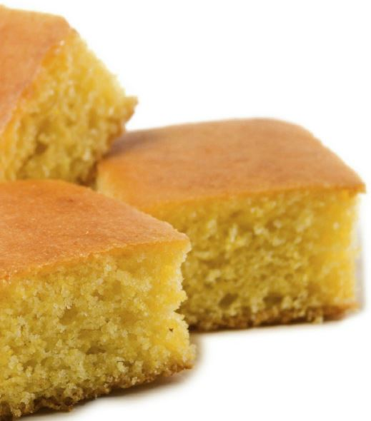 Gluten-Free Cornbread, made with Whey Protein