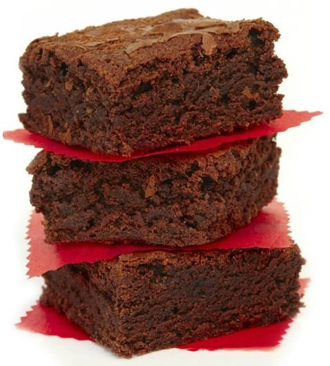 Gluten-Free Brownies, made with Whey Protein