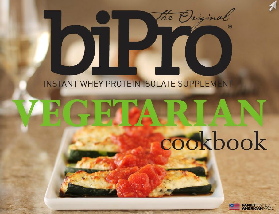 Vegetarian Cookbook by BiProUSA - Download Today!