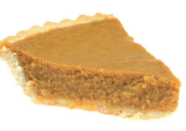Pumpkin Pie, made with Whey Protein
