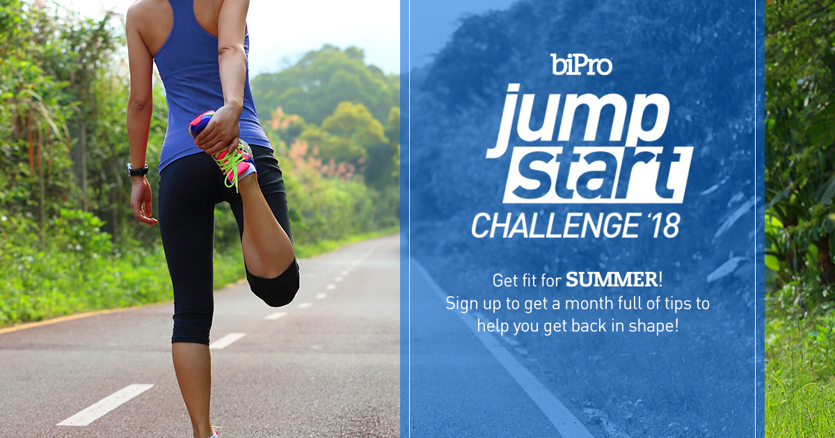 Get Fit for Summer with  BiPro's Jumpstart Challenge!