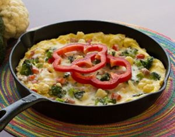 Veggie and Herb Frittata, with Whey Protein