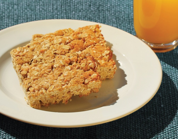 Baked Cereal Bar