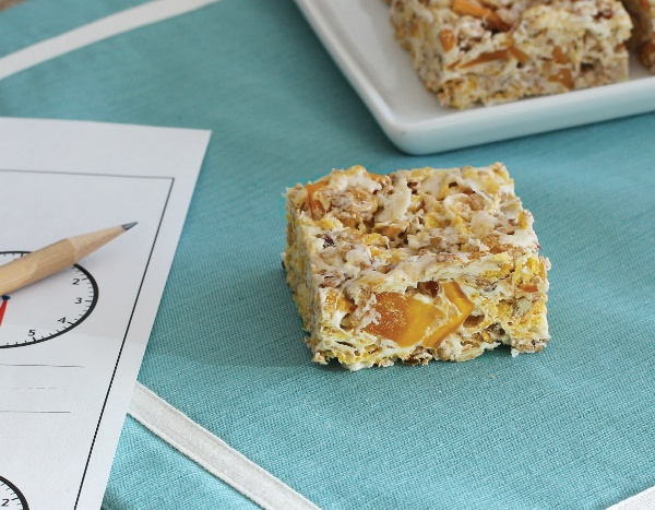 Chewy Tropical Fruit Bars